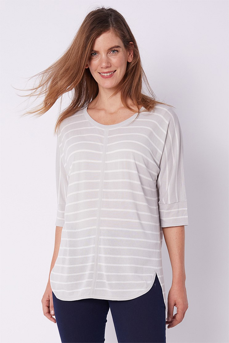 Dolman Sleeve Knit Tunic