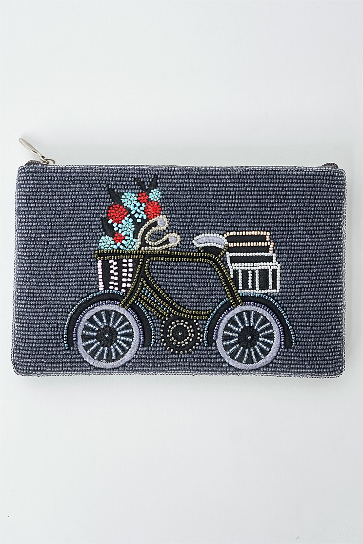 Parisian Bike Cosmetic Bag