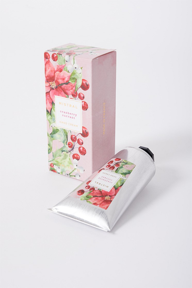 Mistral Cranberry Currant Hand Cream