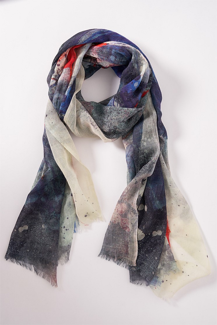 French Abstract Scarf