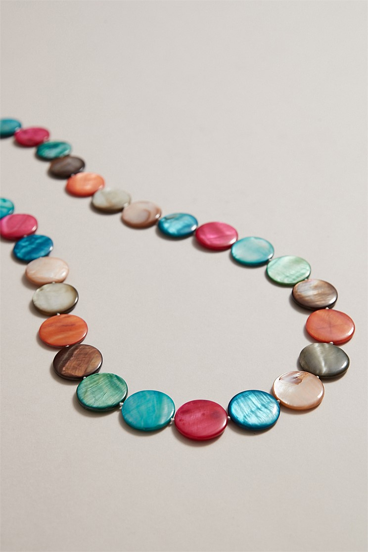 Multi Shell Round Necklace