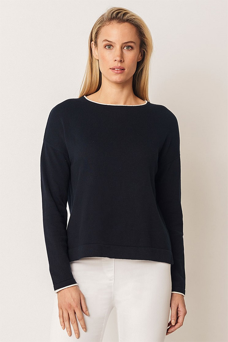Cotton Tipping Knit