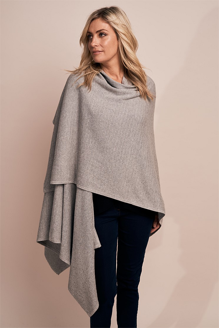 Grey Cotton Wrap