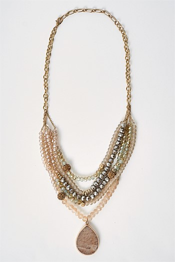 Rachel Statement Necklace