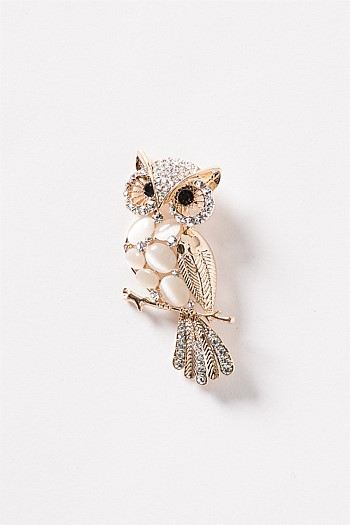 Ollie The Owl Brooch