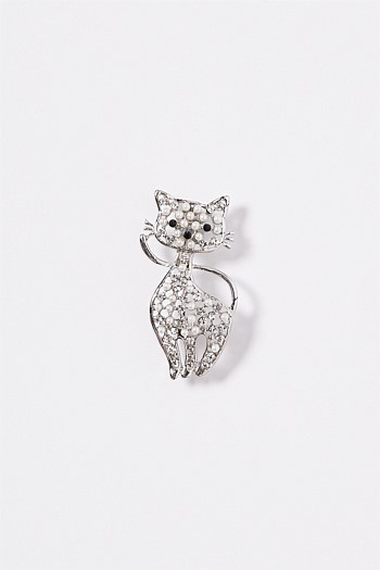 Cathy The Cat Brooch