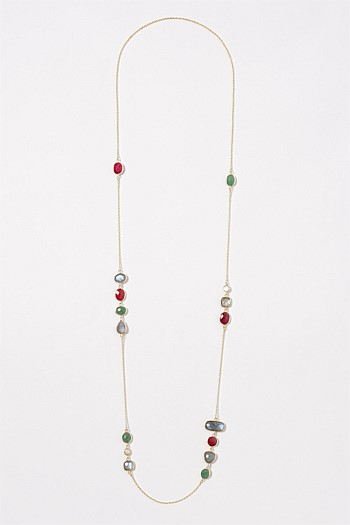 Precious Stones Necklace