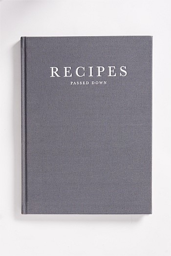 Recipes Passed Down Notebook