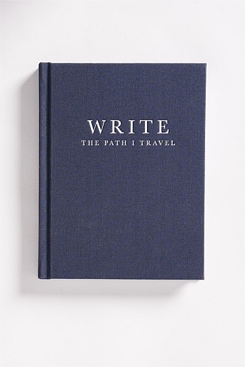 Write | The Path I Travel Notebook