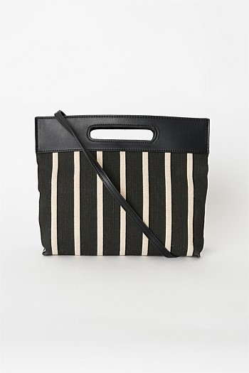 Lee Stripe Clutch