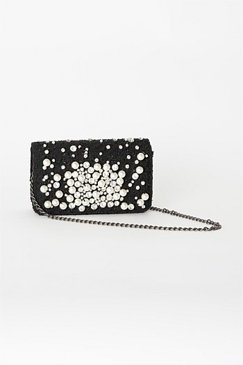 Brigitte Pearly Cross-body