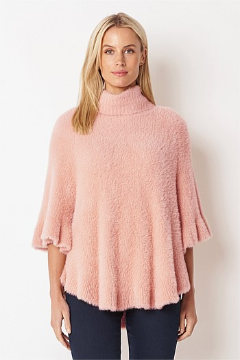 Roll Neck Cape