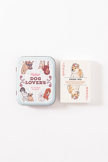 Dog Lovers Playing Cards