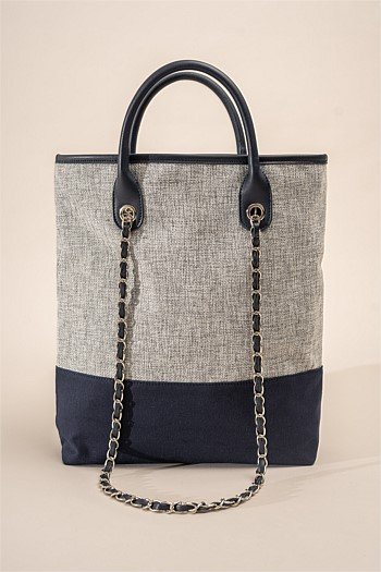 Coco Canvas Tote Bag