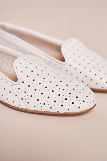 Sunny Flower Lasercut Loafer