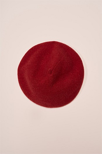 Classic Wool/Cashmere Beret