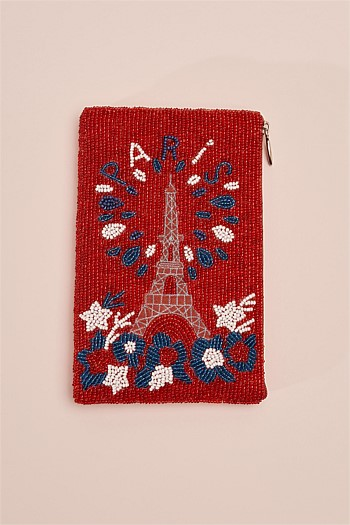 Paris Fireworks Cosmetic Bag