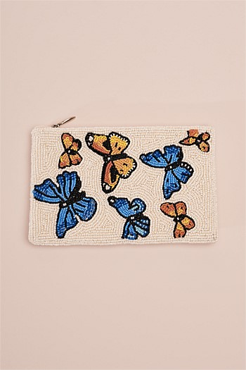 Butterflies Cosmetic Bag