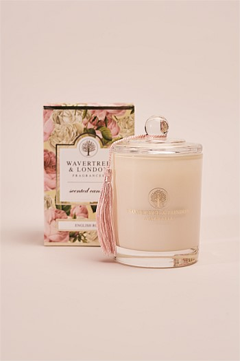 Wavertree & London English Rose Candle