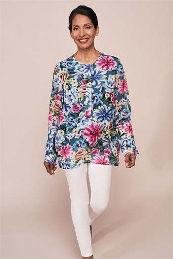 Split Sleeve Blouse