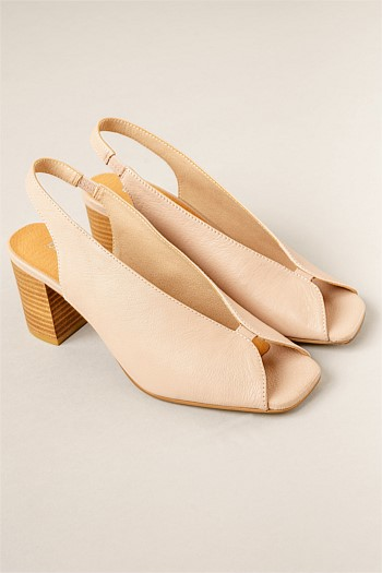 Pace Sleek Square Toe Heel
