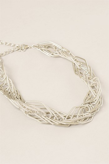 Spiral Wire Short Collar