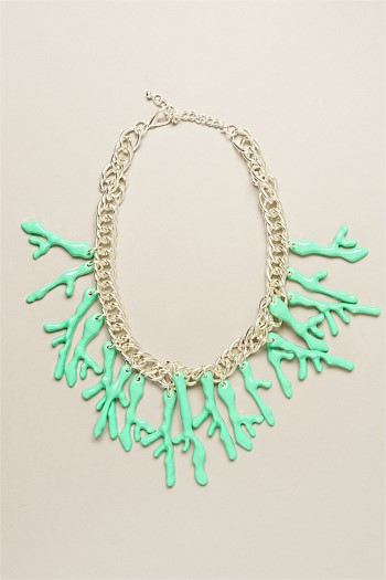 Minty Coral Reef Collar