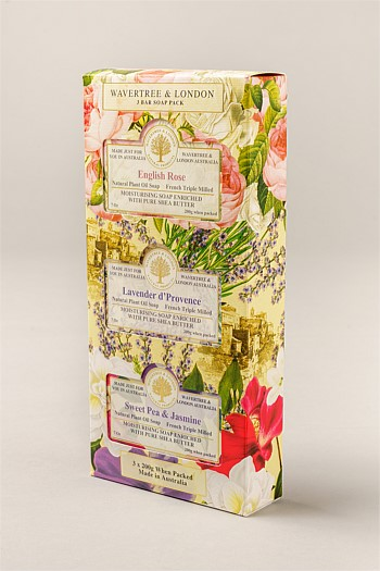 Wavertree & London Floral Trio Soap