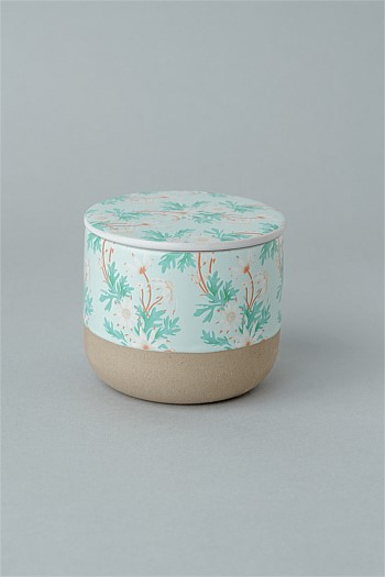 Ceramic Candle Banksia Wattle
