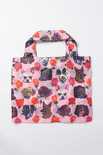 Nathalie Lété Dogs Shopping Tote