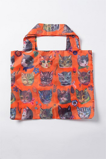 Nathalie Lété Cats Shopping Tote